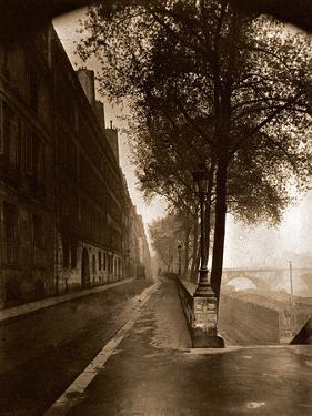 Quai D'Anjou,Paris 1926 by Eug?ne Atget