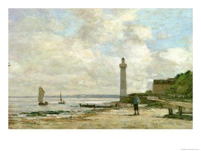 Lighthouse at Honfleur, 1864-66