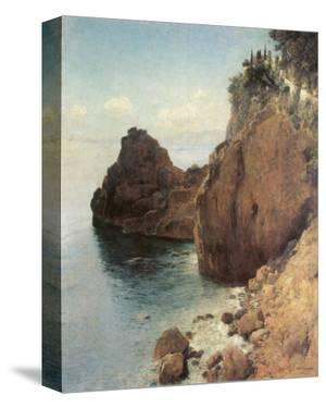 Cliffs near Final-Marina by Eugen Bracht