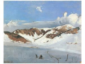 Herzogenhorn near Bernau by Eugen Bracht