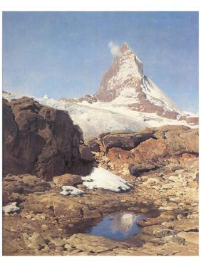 Matterhorn by Eugen Bracht