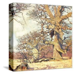 Oaks by Eugen Bracht