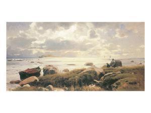 On the Coast of Ruegen by Eugen Bracht