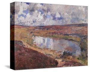 Pond in the Heath by Eugen Bracht