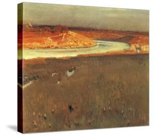 River Spree by Eugen Bracht