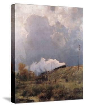 Through the Heathland by Eugen Bracht