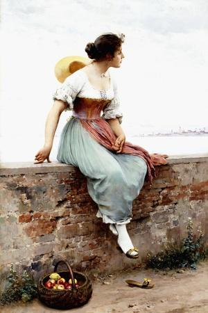 A Pensive Moment, 1896