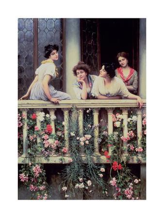 The Balcony, 1911