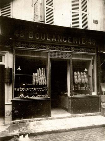 Boulangerie, Paris, 1926 by Eugene Atget