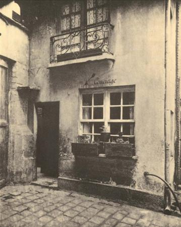 Concierge Door, Paris, 1924