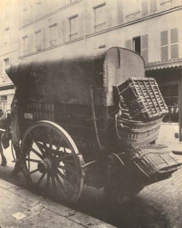 Delivery Horse & Cart, Paris, 1910