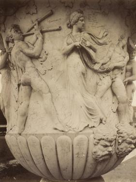Detail of a Vase at Versailles, 1906 by Eugene Atget