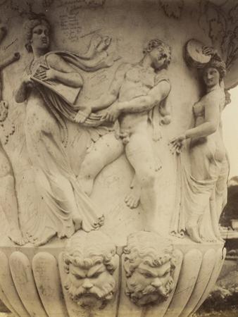 Detail of a Vase at Versailles, 1906