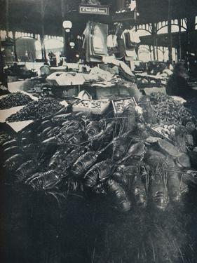 Fish Market, c1877-1927, (1929) by Eugene Atget