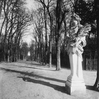 France, 1920 - The Park, Versailles