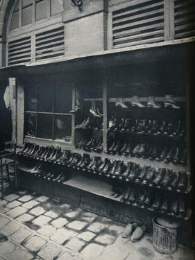 Old Shoes, c1877--1927, (1929) by Eugene Atget