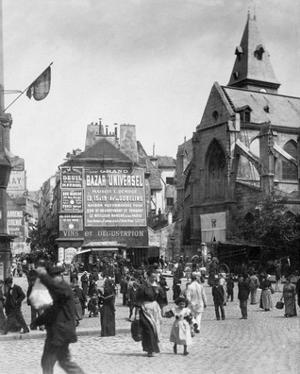 Paris, 1898-1900 - Place Saint-Medard by Eugene Atget