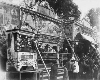 Paris, 1898 - Animal Circus, Fete des Invalides