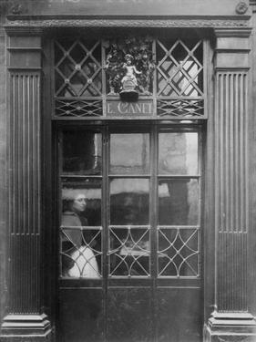 Paris, 1901-1902 - Petit Bacchus, rue St. Louis en l'Ile by Eugene Atget