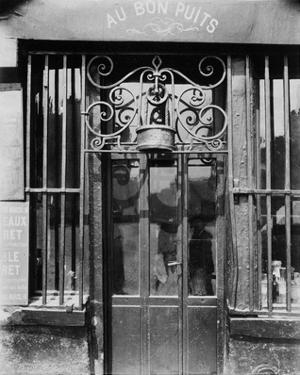 Paris, 1901 - Au bon puits, rue Michel Le Conte by Eugene Atget