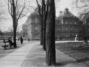 Paris, 1902-1903 - Luxembourg Gardens by Eugene Atget