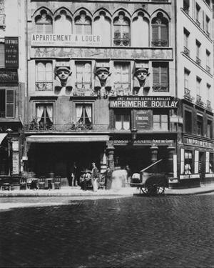 Paris, 1903 - House on the Place du Caire by Eugene Atget