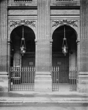 Paris, 1904-1905 - Palais-Royal by Eugene Atget