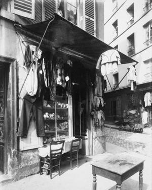 Paris, 1911 - Costume Shop, rue de la Corderie by Eugene Atget