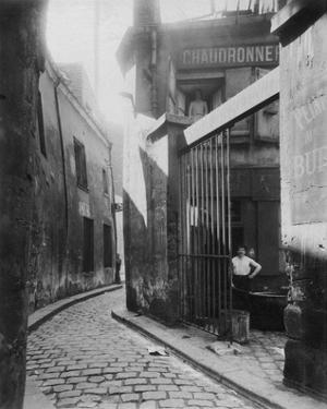 Paris, 1911 - Metalworker's Shop, passage de la Reunion by Eugene Atget