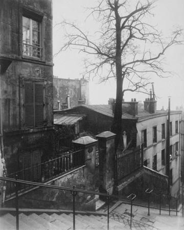Paris, 1921 - Staircase, Montmartre