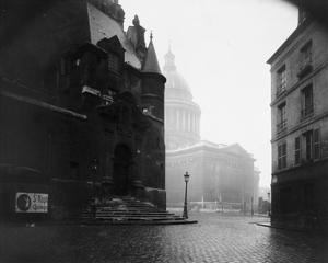Paris, 1924 - The Pantheon by Eugene Atget