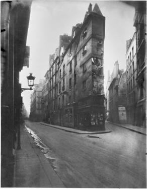 Rue de Seine and Rue de l'Echaude, Paris, c.1900 by Eugene Atget