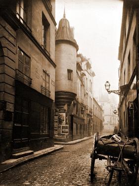 Rue Hautefeuille, 6th Arrondissement 1898 by Eugène Atget