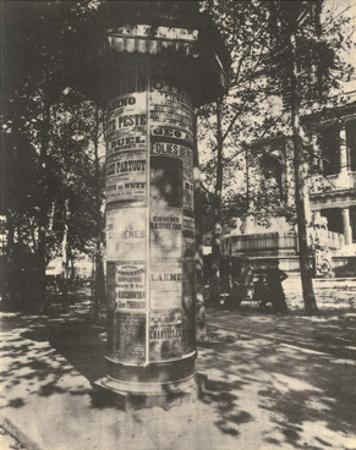 Street Advertising Posters, Paris, 1920