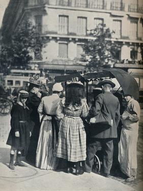 Street Scene, c1877-1927, (1929) by Eugene Atget