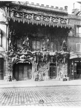 "The Cabaret De ""L'Enfer"" in Paris, 53 Boulevard De Clichy, circa 1900 by Eugene Atget"