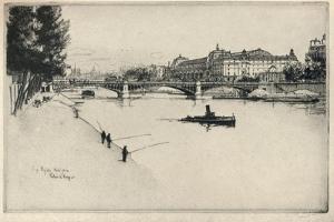 The Palais Dorsay, 1915 by Eugene Bejot