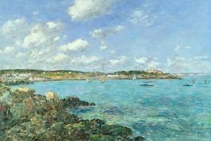 The Bay of Douarnenez, 1897 by Eugène Boudin
