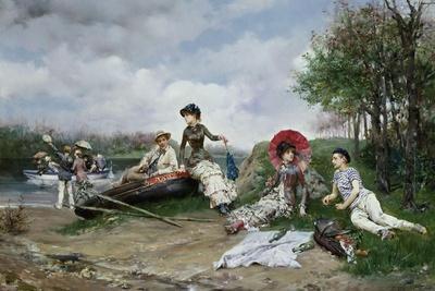 The Picnic, 1880