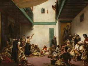 A Jewish Wedding in Morocco, 1839 by Eugene Delacroix