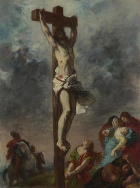Christ on the Cross, 1853 by Eugene Delacroix