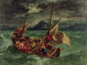 Christ on the Sea of Galilee, 1854 by Eugene Delacroix