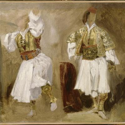 Deux études de costumes souliotes