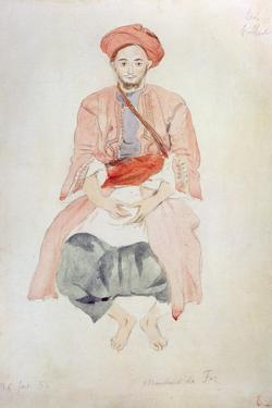 Fez Vendor, 1834 by Eugene Delacroix