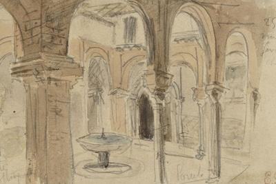Inner Courtyard of the Monastery of Seville, May 1832
