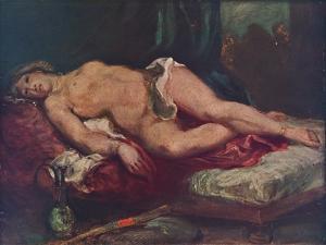 'L'Odalisque', 1825, (1937) by Eugene Delacroix