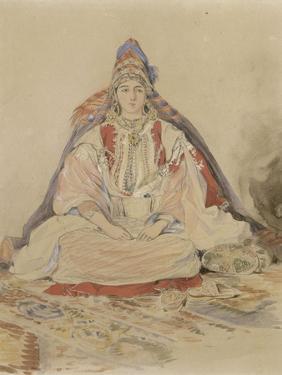 Mariée juive de Tanger by Eugene Delacroix