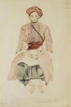 Merchant of Fez, C.1832 by Eugene Delacroix