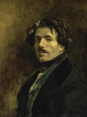 Portrait de L'Artiste by Eugene Delacroix