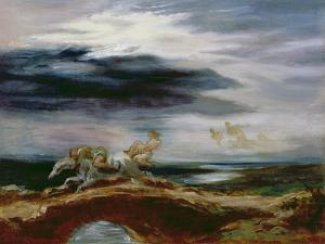 Tam O'shanter, 1849 by Eugene Delacroix